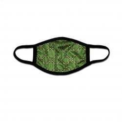 Green Lion Pattern Mask