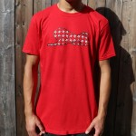 Red Men's Pattern T-Shirt