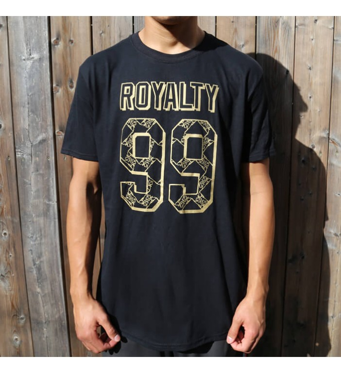 "Men's ""Royalty 99"" Black T-Shirt"