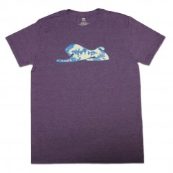Men's Purple Lion Eyes T-Shirt