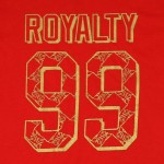 "Women's ""Royalty 99"" Red T-Shirt"
