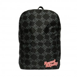 Black Lion Pattern Backpack