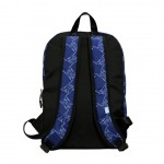 Blue Lion Pattern Backpack