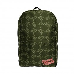 Green Lion Pattern Backpack