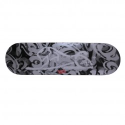 Ghost Lion Skateboard Deck with Grip Tape