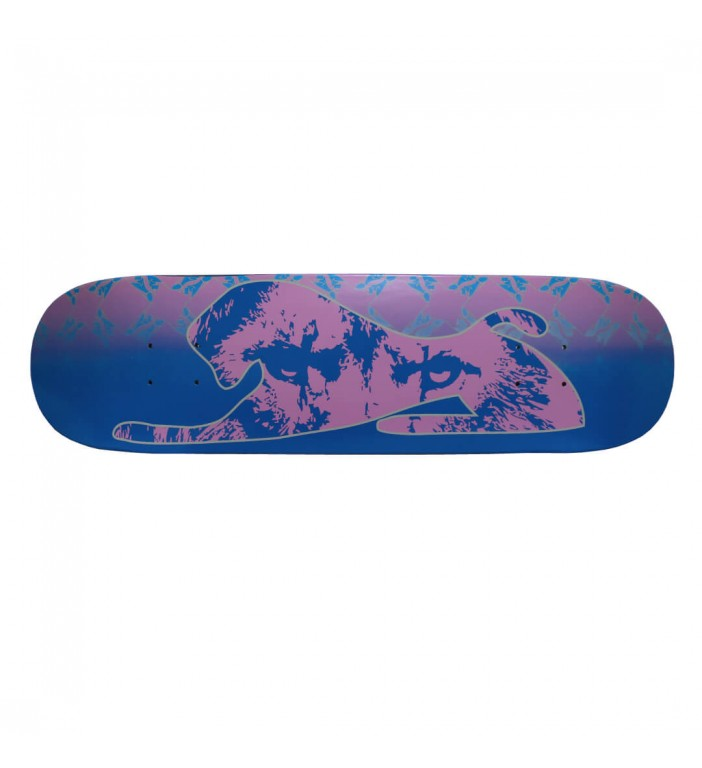 Pink Lion Eyes Skateboard Deck