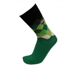 Men's Green Argyle Sock