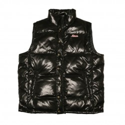 Men's Black Puffy Vest