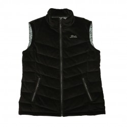 Women's Black Corduroy Vest