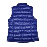 Women's Blue Puffy Vest