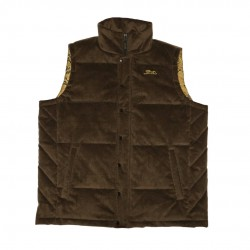 Men's Brown Corduroy Vest