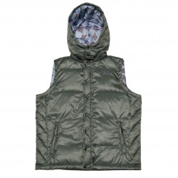 Men's Gray Puffy Vest